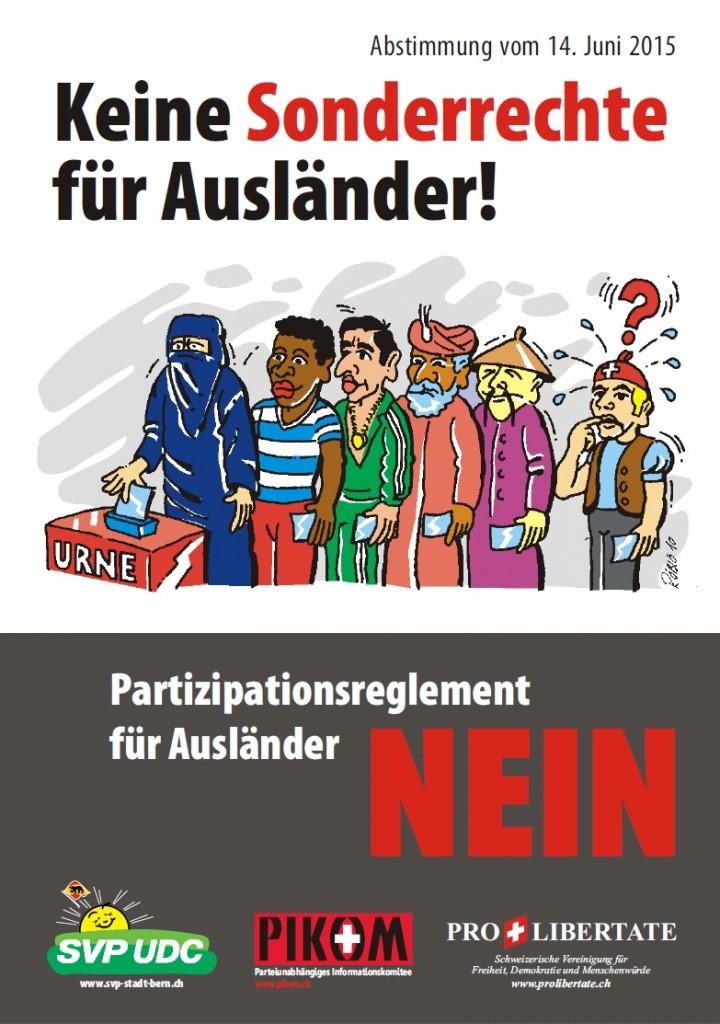 Nein zum Partizipationsreglement!